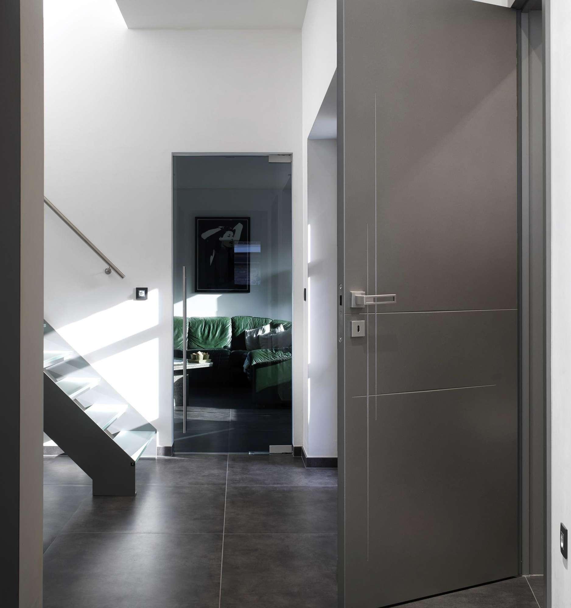 moderne-deur-metallic-kleur