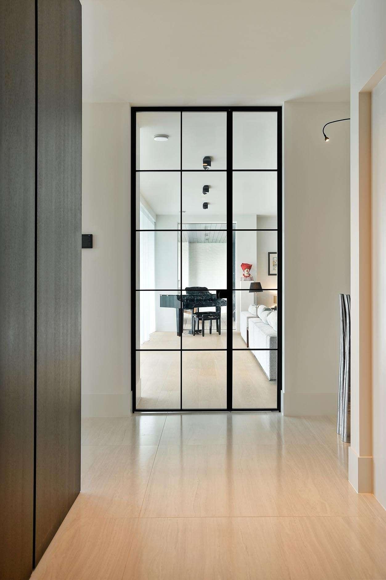 binnendeur-steellook-glas-zwart
