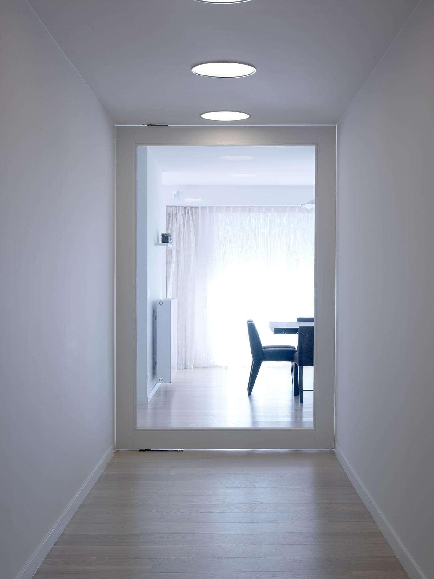 grote-glazen-pivoterende-deur