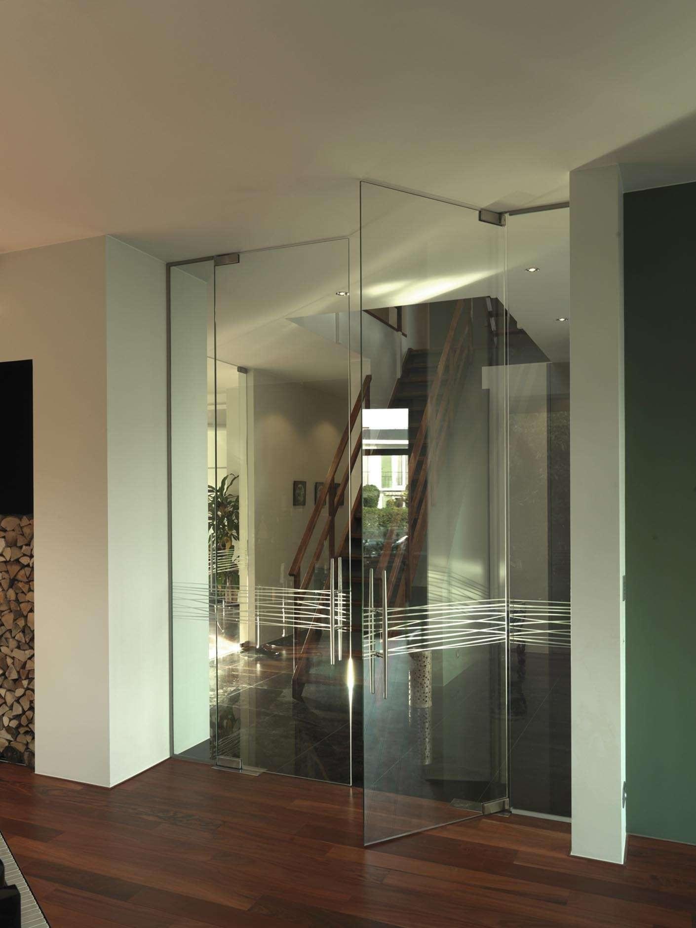 dubbele-glazen-deur-tekening