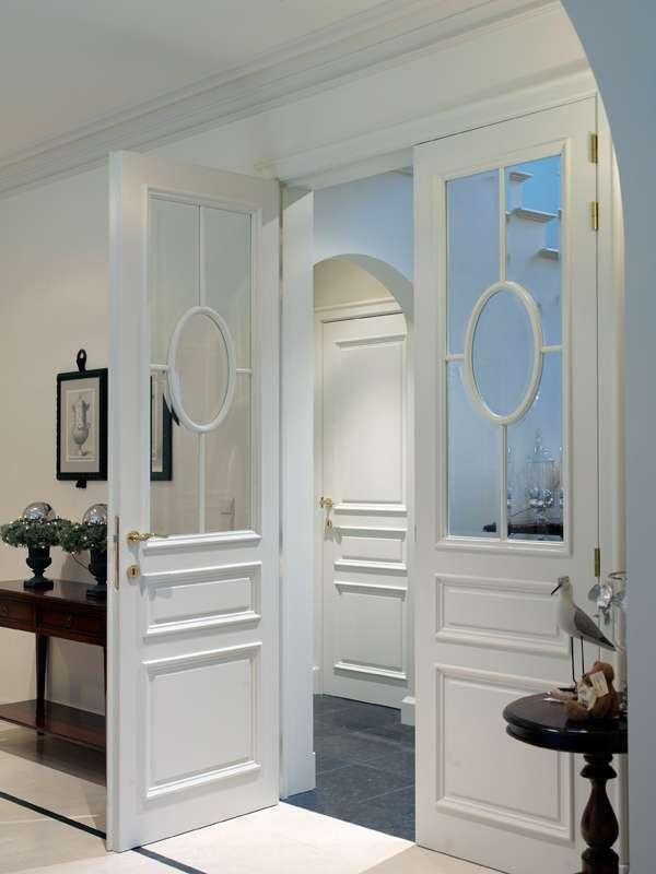 stijlvolle-hoge-dubbele-deur-glas