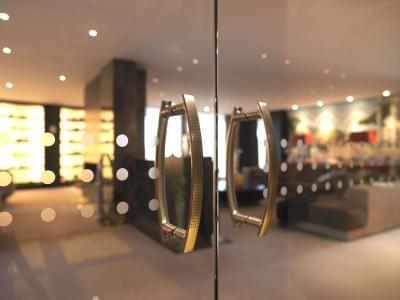 glazen-deur-gezandstraald-motief